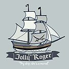 The Jolly Roger by Sarah  Mac Illustration