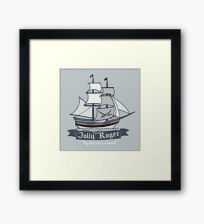 The Jolly Roger Framed Print