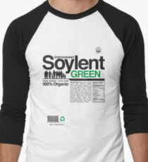 Contents: Unprocessed Soylent Green Men's Baseball ¾ T-Shirt