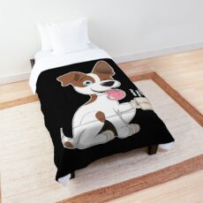 Dog - Coffee Comforter