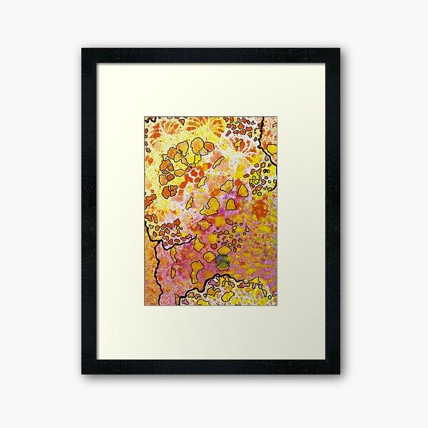 9, Inset B Framed Art Print