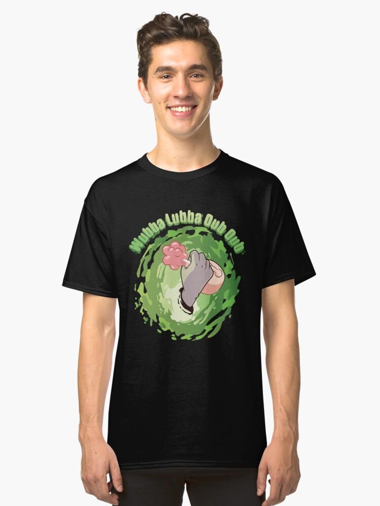 Alternate view of Wubba Lubba Dub Dub Plumbus Classic T-Shirt