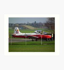 Jet Provost(RAF Cosford) Art Print