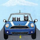 Tuxedo Cats Road Trip! by Ryan Conners