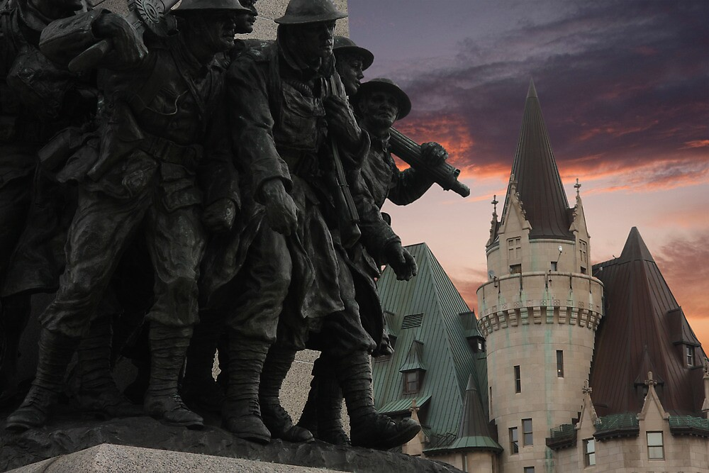 Memorial & Chateau by Benjamin Brauer