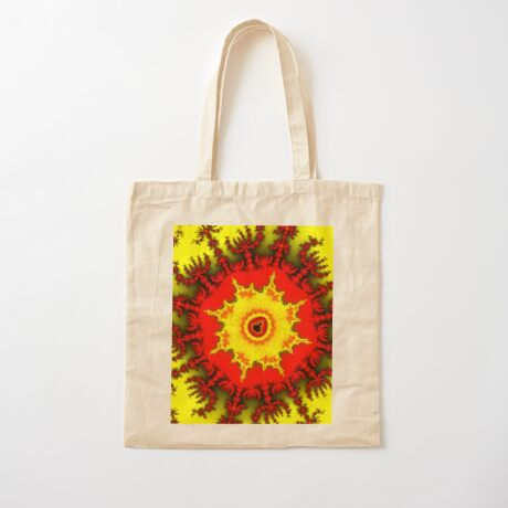 Mandelbrot Cotton Tote Bag