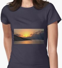 Sunrise on Halki Women's Fitted T-Shirt