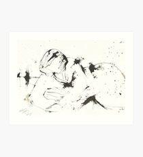 Reclining Woman Art Print