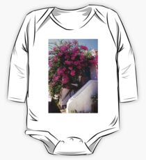 Bougainvillea in a Nimborio Lane One Piece - Long Sleeve