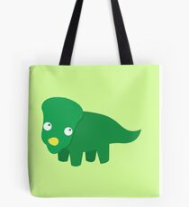 Green dinosaur cute! Tote Bag