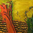 329 - STRING ART IX - DAVE EDWARDS - MIXED MEDIA - 2011 by BLYTHART