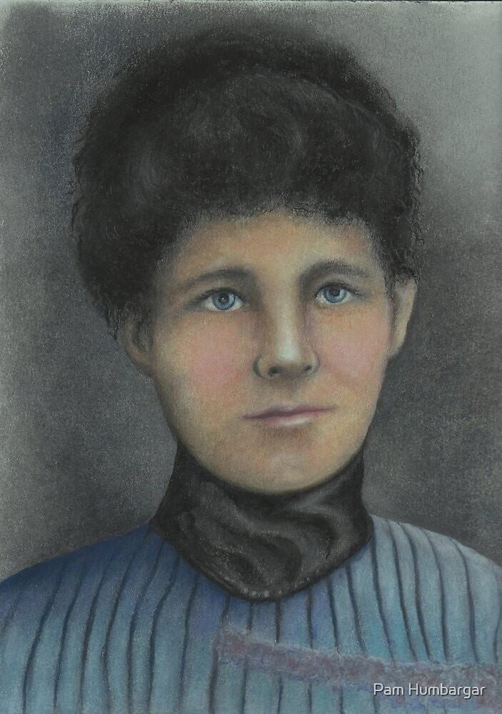 Victorian Era Lady by Pam Humbargar