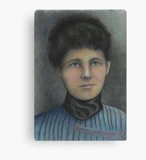 Victorian Era Lady Canvas Print