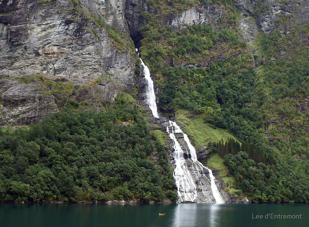 Waterfall by Lee d'Entremont