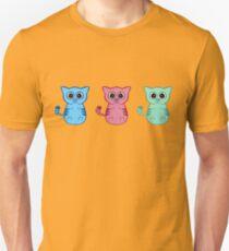 Three Sleepy Kittens T-Shirt