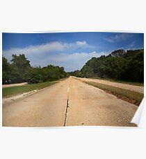 Route 66 - Missouri Concrete Highway Poster
