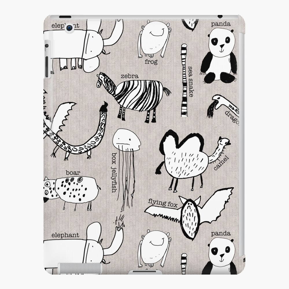 Baby Zoo  iPad Case & Skin