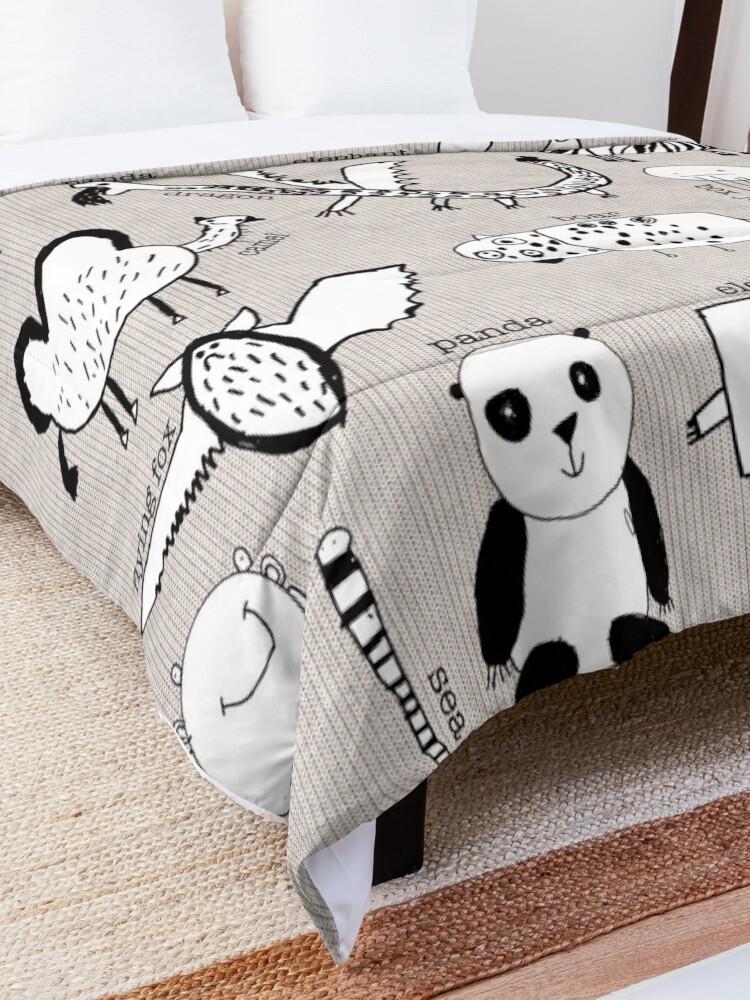 Alternate view of Baby Zoo  Comforter