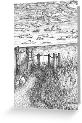This Way To Beach by W. H. Dietrich