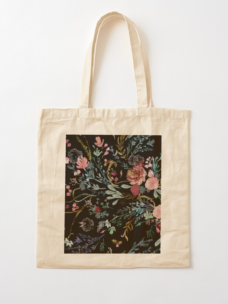 Alternate view of Midnight Floral Tote Bag