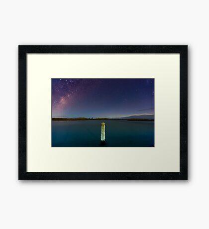 Port Fairy (Milky Way) Framed Print