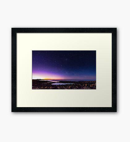 Port Fairy Dawn (Milky Way) Framed Print