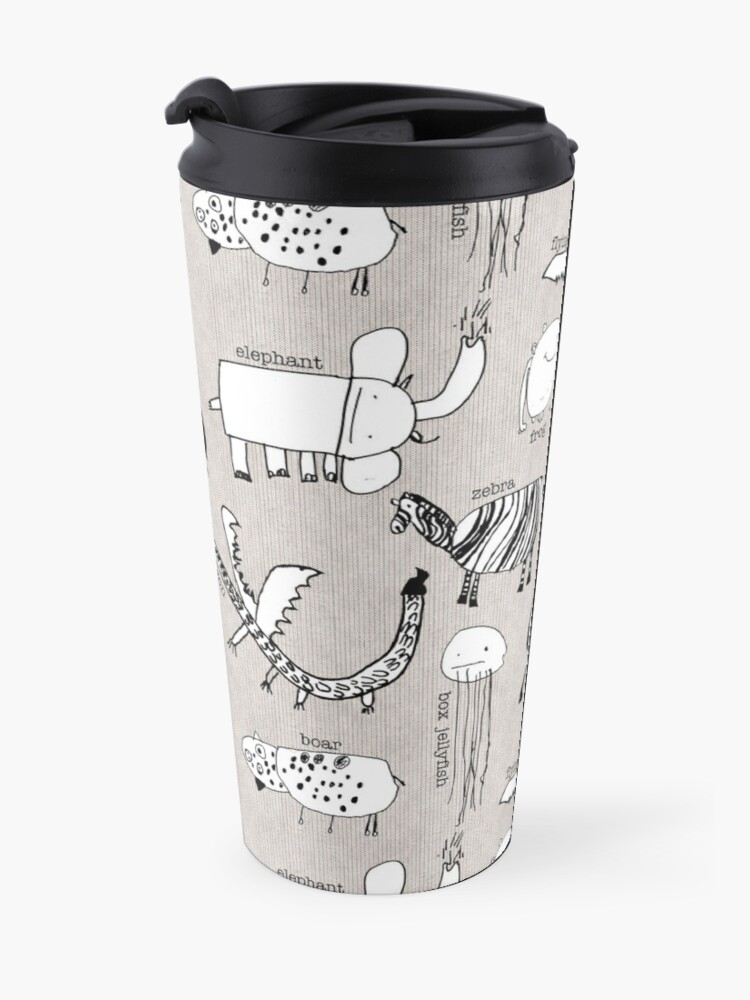Alternate view of Baby Zoo  Travel Mug