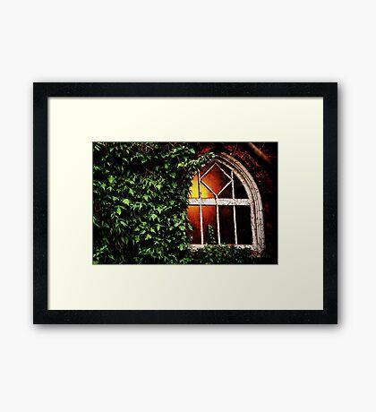 Welcome Light Framed Print