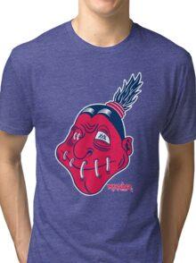 Cleveland Shruken Heads Tri-blend T-Shirt