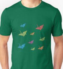 Paper Cranes Unisex T-Shirt