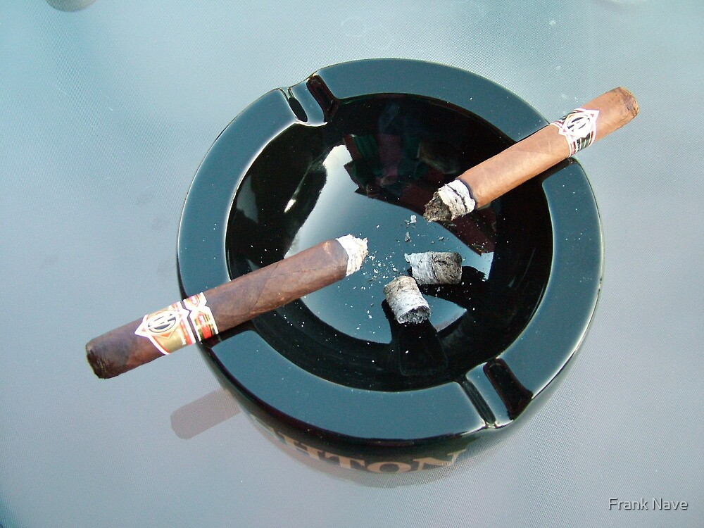 CAO cigar break by Frank Nave