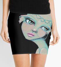Bald & Beautiful Mermaid Mini Skirt