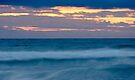 Sunset at Porthtowan by Cliff Williams
