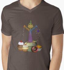 Magic Cakes .. a wizards spell Mens V-Neck T-Shirt