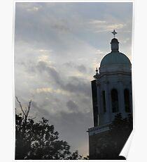 Saint Pauls Sunset Poster