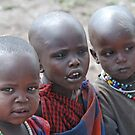 The Children of the Masaai by Adrian Paul
