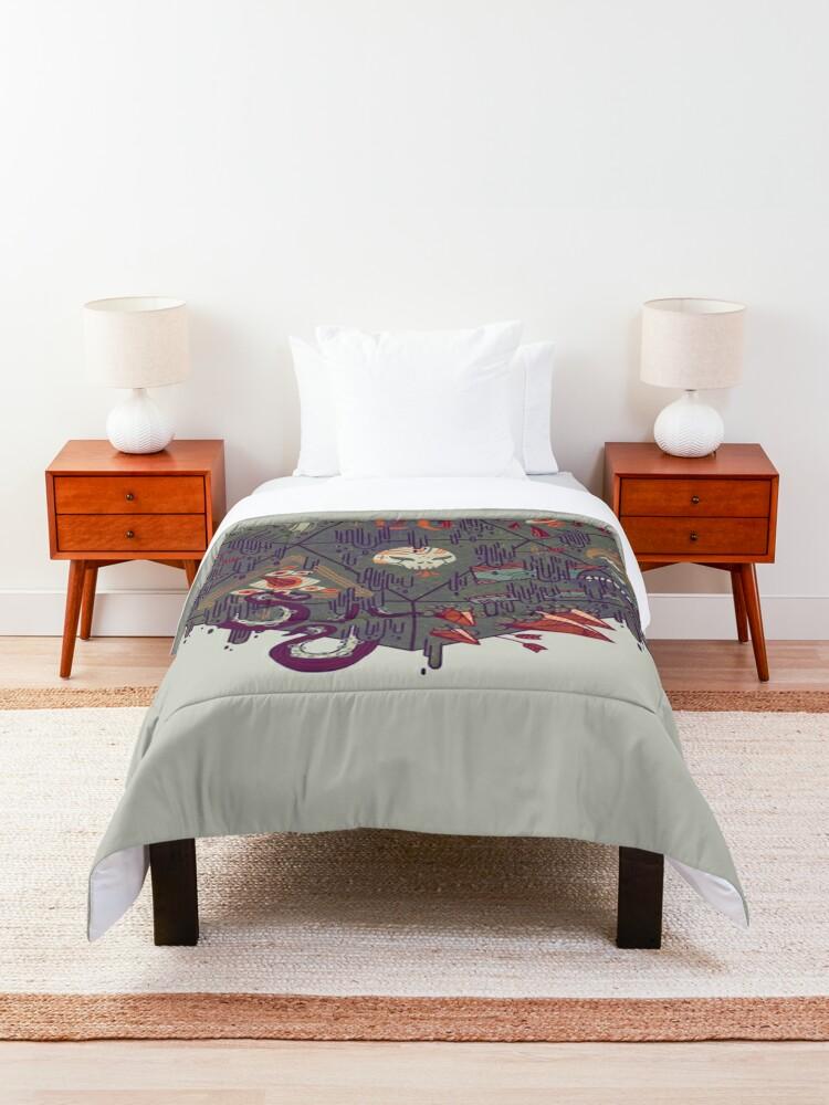 Alternate view of Die of Death Comforter