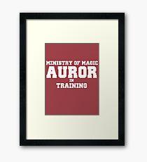 Auror in Training Framed Print