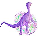 Intersex Isanosaurus (with text)  by R.A.  Faller