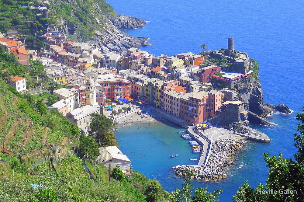 Cinque Terre - Vernazza by Neville Gafen