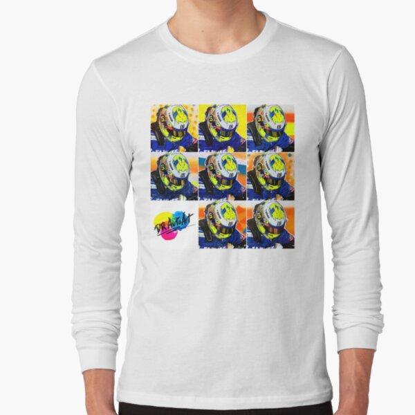 Lando Norris graffiti painting by DRAutoArt Long Sleeve T-Shirt