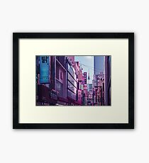 Seoul - Anime World Framed Print
