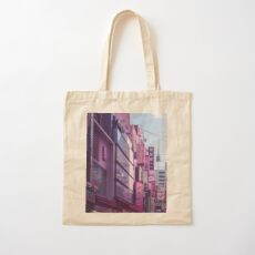 Seoul - Anime World Cotton Tote Bag
