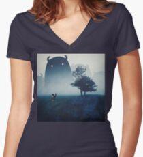 The Family Women's Fitted V-Neck T-Shirt