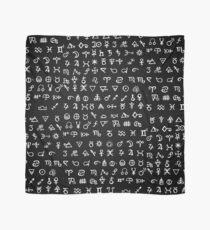 Alchemy Symbols Scarf