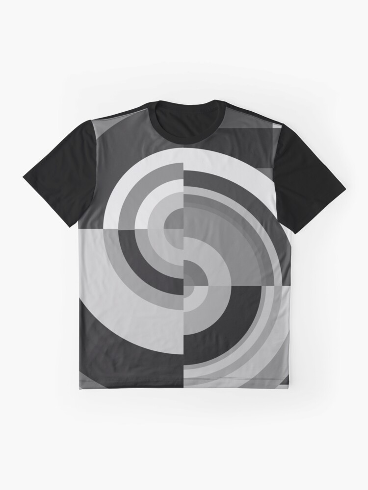 Alternate view of Geometric Revolution 12 Graphic T-Shirt