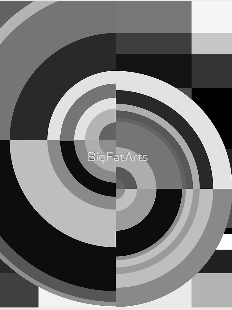 Geometric Revolution 12 by BigFatArts