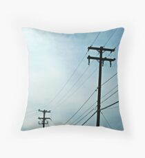 Poles Throw Pillow