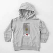 We love each other Toddler Pullover Hoodie