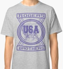 usa california hoodie by rogers bros co Classic T-Shirt